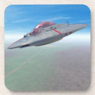 El platillo volante posavaso