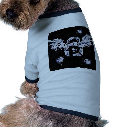 El platino se va volando la protección camiseta con mangas para perro