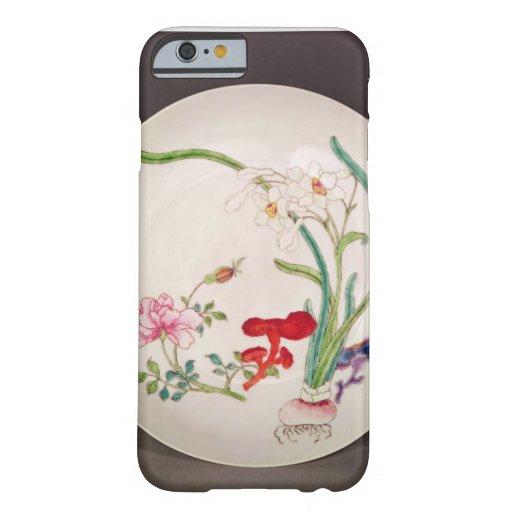 El plato de porcelana, famille subió la funda de iPhone 6 barely there