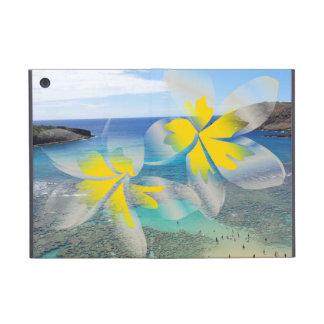 El Plumeria de Hawaii florece la mini caja del iPa iPad Mini Fundas