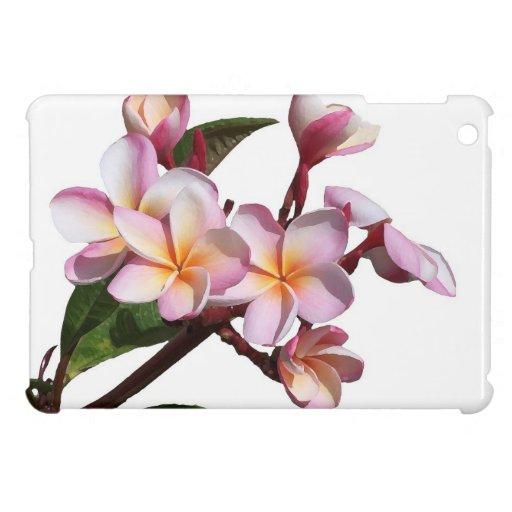 El Plumeria florece la mini caja del iPad