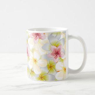 El Plumeria me ama Taza De Café