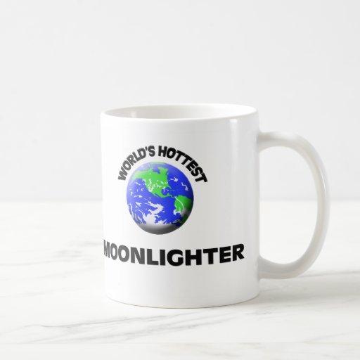 El pluriempleado más caliente del mundo taza de café