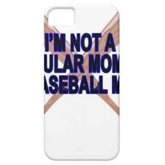 El .png de las camisetas de las mamáes del béisbol funda para iPhone 5 barely there