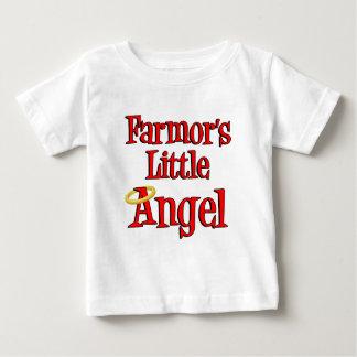 El poco ángel de Farmor Playera De Bebé