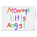 El poco ángel de la mamá felicitación