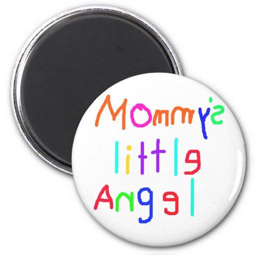 El poco ángel de la mamá imanes para frigoríficos