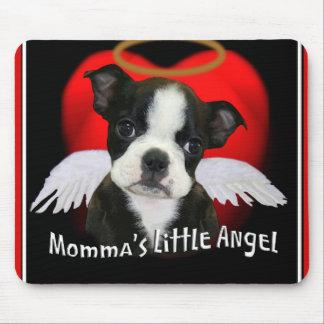 El poco ángel de Momma Alfombrillas De Ratones