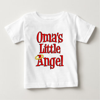 El poco ángel de Oma Playera De Bebé