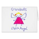 El poco ángel del Grandad Felicitación