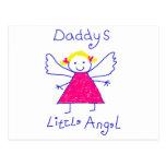 El poco ángel del papá postales