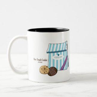 El poco bolso de la galleta de la taza de las