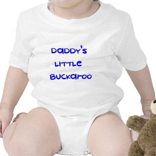 El poco Buckaroo del papá Traje De Bebé
