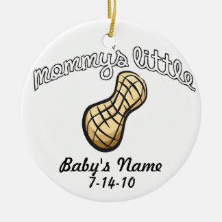 El poco cacahuete de la mamá - su nombre adorno para reyes