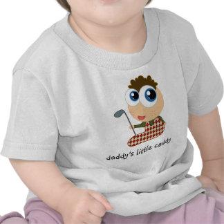 El poco carrito del papá embroma la camiseta