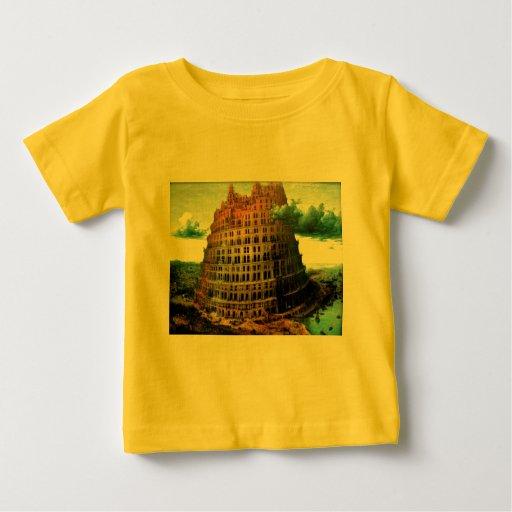 """El """"poco"""" de Pieter Bruegel torre de Babel Camisetas"""