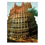 "El ""poco"" de Pieter Bruegel torre de Babel Postal"