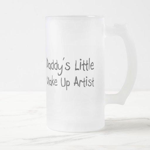 El poco del papá compone al artista taza cristal mate