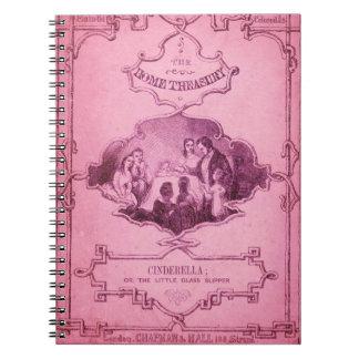 El poco deslizador de cristal 1 spiral notebooks