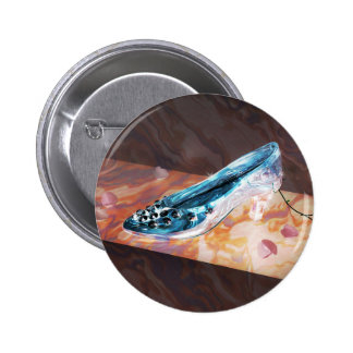 El poco deslizador de cristal pin