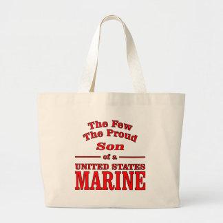 El pocos el hijo orgulloso de un infante de marina bolsa tela grande
