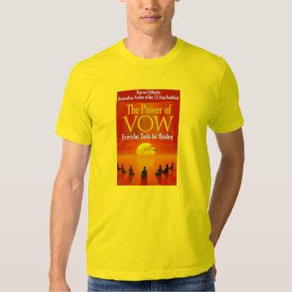 El poder de la camiseta de la cubierta de libro poleras