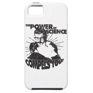 ¡El poder de la ciencia le obliga! iPhone 5 Case-Mate Funda