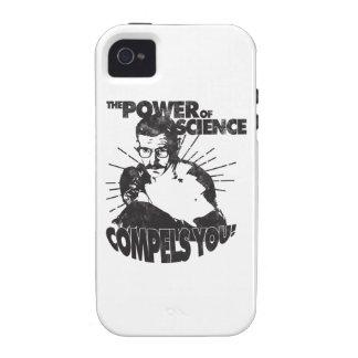 ¡El poder de la ciencia le obliga! iPhone 4 Carcasa