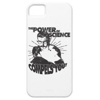 ¡El poder de la ciencia le obliga! iPhone 5 Fundas