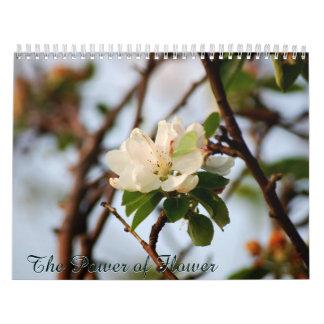 El poder de la flor calendarios