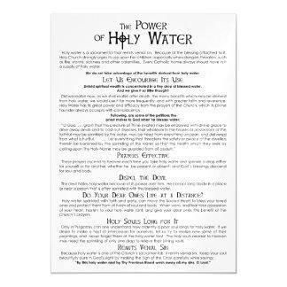 El poder de la tarjeta magnética santa del agua invitaciones magnéticas