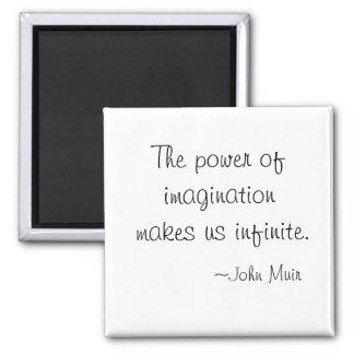 El poder de los imanes de John Muir de la imaginac Imán Para Frigorifico
