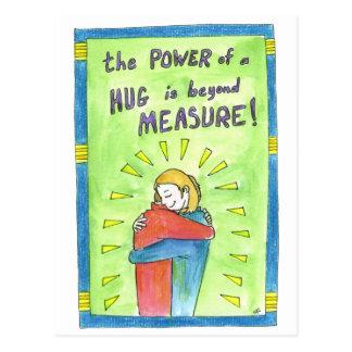 El poder de un abrazo tarjetas postales