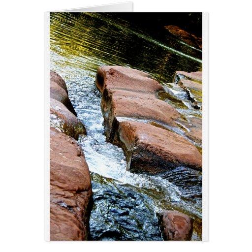 El poder del agua tarjeta de felicitación