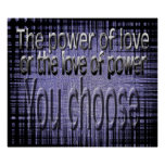 El poder del amor posters