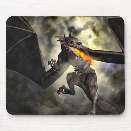 El poder del dragón mouse pad