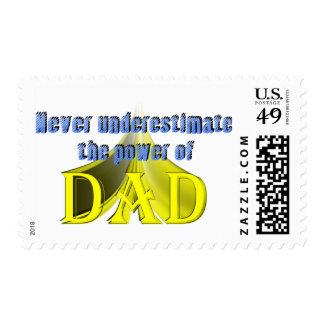 El poder del papá franqueo