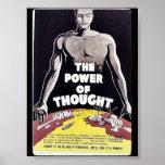 El poder del pensamiento poster