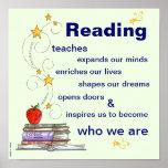 El poder del poster de la lectura
