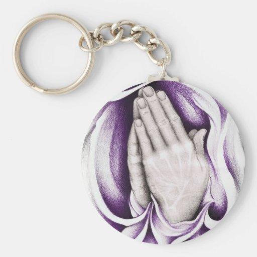 El poder del rezo: Llavero púrpura