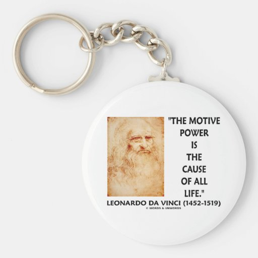 el poder motivo de da Vinci es la causa de toda la Llaveros Personalizados