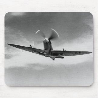 """""""El poder y el Spitfire WW2 de Supermarine de la g Tapetes De Raton"""