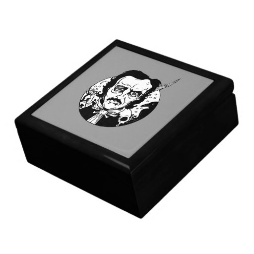 El Poe tejó la caja de regalo