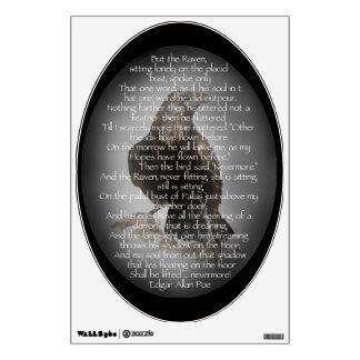 El poema del cuervo de Edgar Allen Poe, cita nunca Vinilo