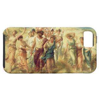 El poeta Anacreon (570-485 A.C.) con sus musas, Funda Para iPhone SE/5/5s