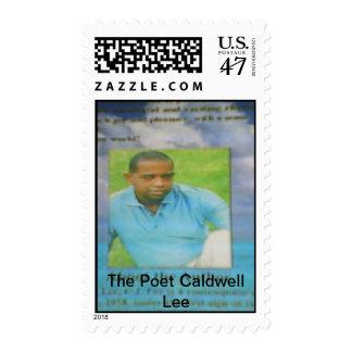 El poeta Caldwell Lee Timbres Postales