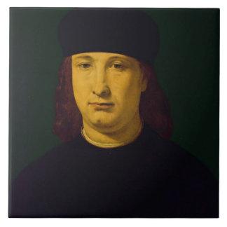El poeta Casio c 1495-1500 aceite en el panel Teja Ceramica