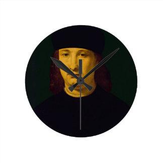 El poeta Casio, c.1495-1500 (aceite en el panel) Relojes De Pared