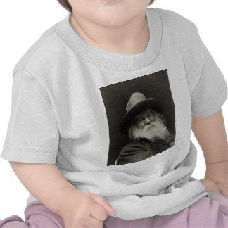 El poeta de risa Walt Whitman del filósofo Camisetas