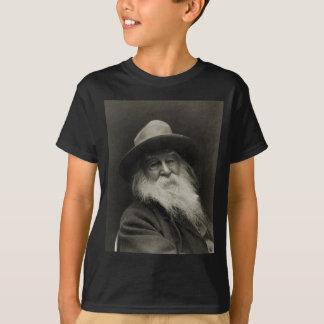 El poeta de risa Walt Whitman del filósofo Remera